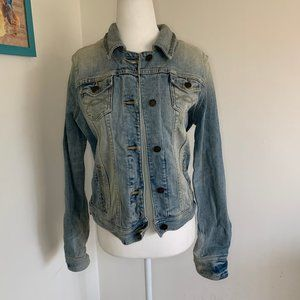 Abercrombie and Fitch Vintage Jean Jacket, size M
